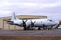 160290 @ CID - P-3C on the Rockwell-Collins ramp - by Glenn E. Chatfield