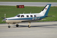 D-EEJF @ LOWI - Piper 46 Malibu - by Thomas Ramgraber-VAP
