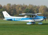 G-BKEV @ EGBD - Cessna F172M