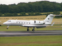 7T-VPM @ EGPK - Gulfstream 4SP/Algerian Government/Prestwick - by Ian Woodcock