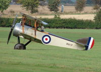 G-EBKY @ EGTH - x. 9917 at Shuttleworth Air Display, October, 2007 - by Eric.Fishwick