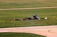 N121H @ DPA - The aircraft crashed on take-off on 6/13/95.  The two on board were my friends. - by Glenn E. Chatfield