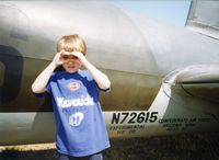 N72615 @ GKY - That's my Boy! (At Arlington Muni @ 1996 with engine trouble) - by Zane Adams