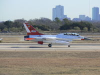 92-0455 @ NFW - On the runway at NASJRB Ft. Worth (Carswell) in town for F-35 flight test chase duties - by Zane Adams