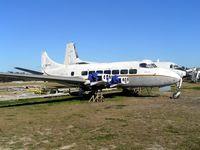 DQ-FDY @ YSBK - De Havilland Heron (c/n 14108) preserved at Bankstown , Sydney , Australia