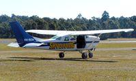 VH-ROW @ YWVA - Cessna P206   Parachute platform at Warnervale