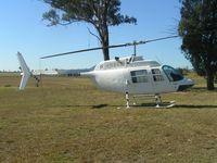 VH-UOA @ YWIO - Augusta 206B at Wilton /Picton
