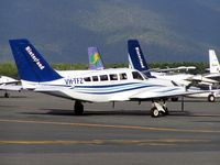 VH-TFZ @ YBCS - Cessna 402C
