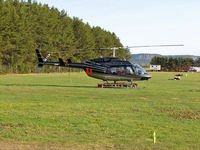 C-FJBQ @ CYQT - C-FJBQ Bell 206L-1 C30P @ Thunder Forest Fire Headquarters - by Chad Calaiezzi