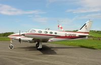 D-IAHW @ QFB - Cessna 340 - by J. Thoma