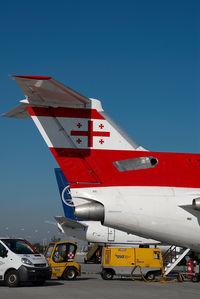 4L-TGG @ VIE - Georgian Airlines Yakovlev 42 - by Yakfreak - VAP