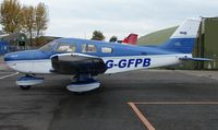 G-GFPB @ EGCB - Pa-28 Archer minus propellor awaiting formal Registration on the British Register