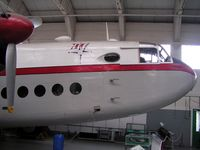 G-ANTK @ EGSU - Avro York in Dan Air colours preserved at Duxford