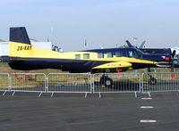 ZK-KAY @ EGLF - Pacific Aerospace 750XL at Farnborough 2004