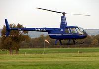 G-BZTA @ EGKH - R44 at Headcorn