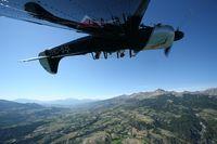 G-CBSS @ GAT - Yak 52 inverted flying - by Jean Huet