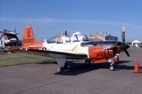 160280 @ DVN - T-34C at the Quad Cities Air Show - by Glenn E. Chatfield
