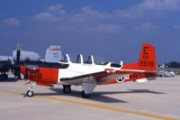 162636 @ DPA - T-34C on display at the air show - by Glenn E. Chatfield