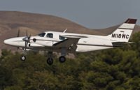N118WC @ CCR - landing on rwy 32R - by Philippe Bleus