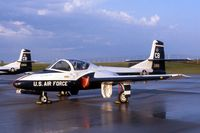 68-7981 @ CID - T-37B in for open house display - by Glenn E. Chatfield