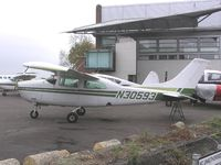 N30593 @ EGTC - Cessna 210 stored at Cranfield - by Simon Palmer