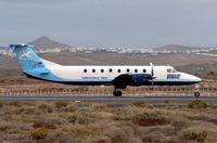 EC-GUD @ GCRR - Serair B1900 with an early morning flight