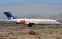 EC-JRR @ GCRR - Although in full SAS colurs - aircraft wears Spanish register marks on lease