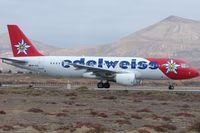 HB-IHZ @ GCRR - Eidelweiss A320