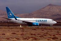 LX-LGR @ GCRR - Luxair Boeing 737-700
