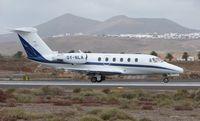 OY-NLA @ GCRR - Danish Cessna 650 in Lanzarote