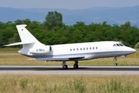 D-BILL @ LFSB - Falcon 2000EX departing rwy 16 - by eap_spotter