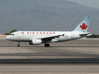 C-FWTF @ KLAS - Air Canada / 2003 Airbus A319-112 - by Brad Campbell