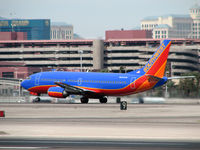 N693SW @ KLAS - Southwest Airlines / 1985 Boeing 737-317 - by Brad Campbell