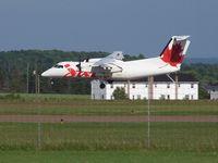 C-GCTC @ CYYG - Landing at Charlottetown - by Richard Garnett