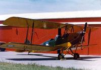 N1350 @ FTW - Nice Tiger Moth - by Zane Adams