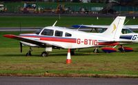 G-BTID @ EGTE - Exeter Airport  , Devon  , UK