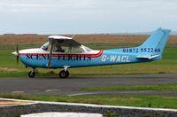 G-WACL @ EGTP - Perranporth , Cornwall  , UK