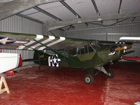 G-BHVV @ EGTP - Although this wears '31430' markings is is actually ex 43-38384 and hangared at Perranporth , Cornwall Uk
