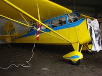 G-IVOR @ EGLA - Aeronca 11AC undergoing maintenance