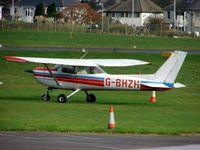 G-BHZH @ EGHD - Cessna F152