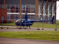 G-ODHB @ EGBJ - Busy late afternoon at Gloucestershire (Staverton) Airport - by Terry Fletcher