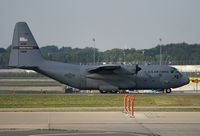 87-9281 @ MSP - USAF C-130 MN National Guard preparing for departure from MSP on a training exercise over central Minnesota - by Matt Miles