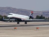 N920FJ @ KLAS - US Airways Express / 2004 Bombardier Inc CL600-2D24