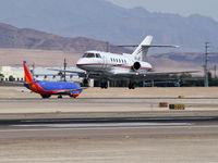 XA-JET @ KLAS - Aerolíneas Ejecutivas / 2003 Raytheon Hawker 800XP / Formerley N628XP