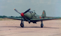 N6968 @ CNW - At the Texas Sesquicentennial Airshow - CAF P-39  -  42-19597