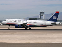 N663AW @ KLAS - US Airways / 2001 Airbus Industrie A320-232 - by Brad Campbell