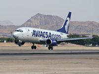 XA-UFW @ KLAS - Aviacsa / 1987 Boeing 737-301