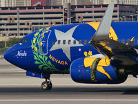 N727SW @ KLAS - Southwest Airlines - 'Nevada One' / 1999 Boeing 737-7H4