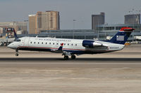 N17337 @ KLAS - US Airways Express / 1999 Bombardier Inc CL-600-2B19