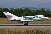D-CLBR @ LFSB - landing on rwy 16 - by eap_spotter